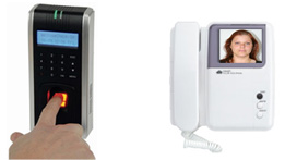Fingerprint Reader & Video Intercom